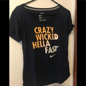 NIKE gym t shirt in navy